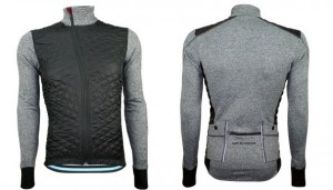 Café du Cycliste heidi winter jacket GRY