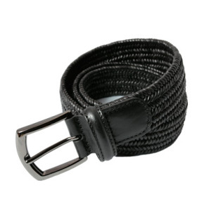 Andersons_narifuri_leather_mesh_belt_BK