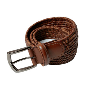 Andersons_narifuri_leather_mesh_belt_BR