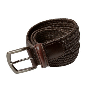 Andersons_narifuri_leather_mesh_belt_DBR
